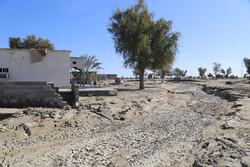 کمک رسانی هوایی به سیل زدگان جنوب کرمان