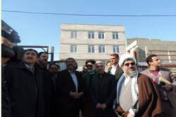 استاندار قزوین از ساختمان در حال احداث تبلیغات البرز بازدید کرد