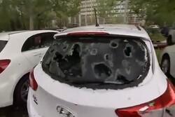Avustralya'da golf topu büyüklüğünde dolu fırtınası