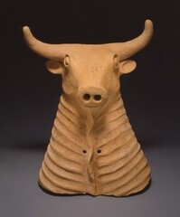 Spouted bull vessel; Gilan province; northern Iran; 1200-800 BC (Photo courtesy of Herberger Institute for Design and the Arts)