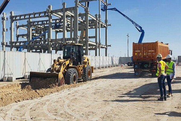 بدأت أعمال بناء جناح الكيان الغاصب في معرض إكسبو دبي 2020 في دولة الإمارات