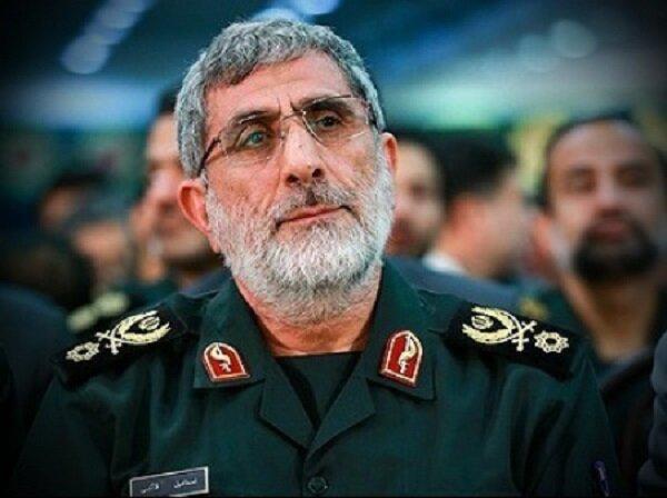 روسیا الیوم از سفر سردار قاآنی به بغداد خبر داد