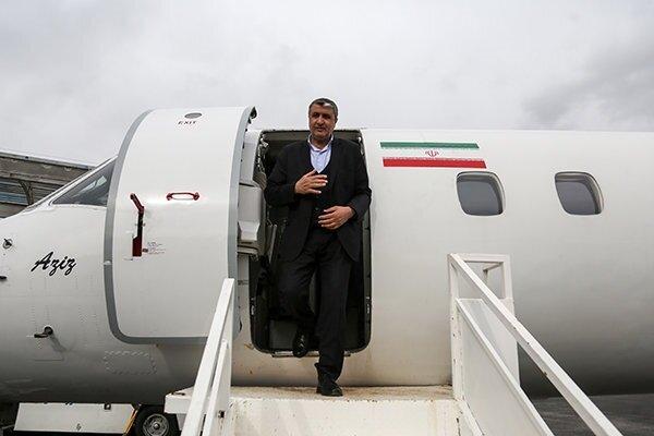 وزیر راه امروز برای پیگیری سانحه سقوط هواپیما به اوکراین رفت