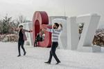 Tebriz'de kar ve eğlence!