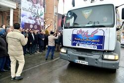 ۷ کامیون کمک مردم ارومیه به سیلزدگان سیستان و بلوچستان ارسال شد