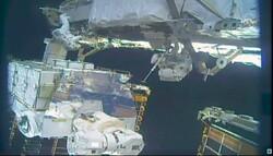 زنان فضانورد باتری های ایستگاه فضایی را ارتقا دادند