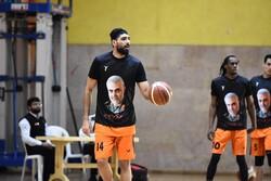 دیدار تیم های بسکتبال پالایش نفت آبادان و صنعت مس کرمان