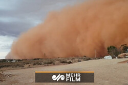 VIDEO: Huge dust storm blankets Australia's New South Wales