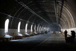 الاعلان عن موعد افتتاح طريق طهران _ شمال السريع / صور