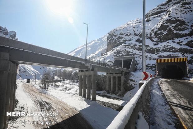 Pres. Rouhani inaugurates section I of Tehran-Shomal freeway