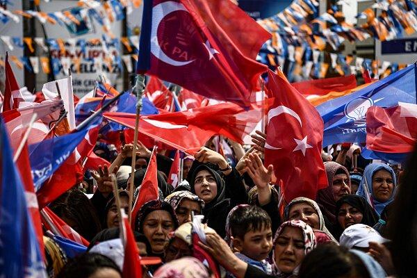 ترکی میں صدی معاملے کے خلاف عوامی مظاہرہ