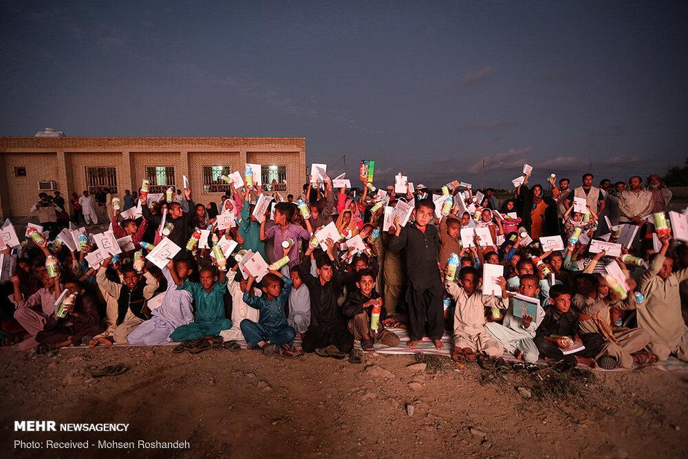 حضور گروههای فرهنگی در مناطق سیلزده سیستان و بلوچستان