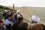 بازدید سرزده رئیس سازمان بازرسی کل کشور از معدن چغارت