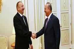 İlham Aliyev, Çavuşoğlu ile görüştü