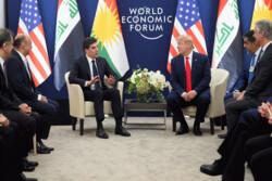 رایزنی بارزانی و ترامپ درباره موضوعات منطقه ای
