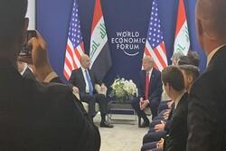 Irak Cumhurbaşkanı Salih, Donald Trump ile görüştü