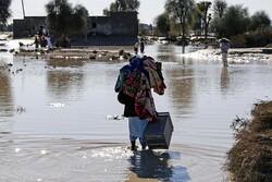 آمادگی روستاییان حاشیه رودخانه برای تخلیه احتمالی/ثبت ورود حدود۵۰۰۰ مترمکعب آب در ثانیه به سد میناب