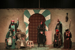 "Ritual play ""Khazan-e-Arghavan"" goes on stage in Tehran"