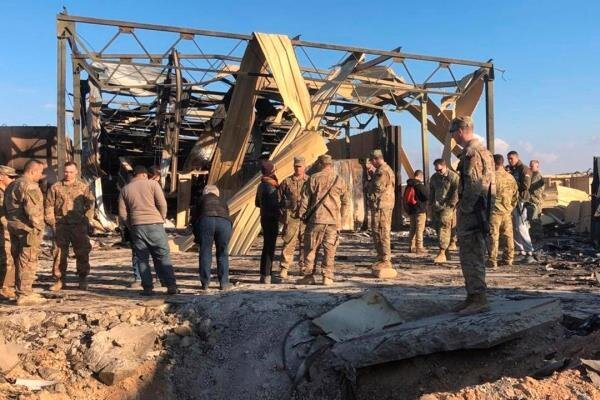 ایران کے حملے میں 64 امریکی فوجیوں کو شدید دماغی چوٹیں آئیں