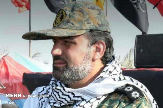 فرمانده حوزه بسیج دارخوین مورد اصابت گلوله قرار گرفت