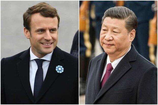 Macron, Xi Jinping hold phone talks over Iran nuclear program
