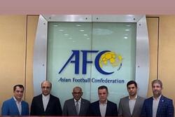 نمایندگان ایران در کنفدراسیون فوتبال آسیا