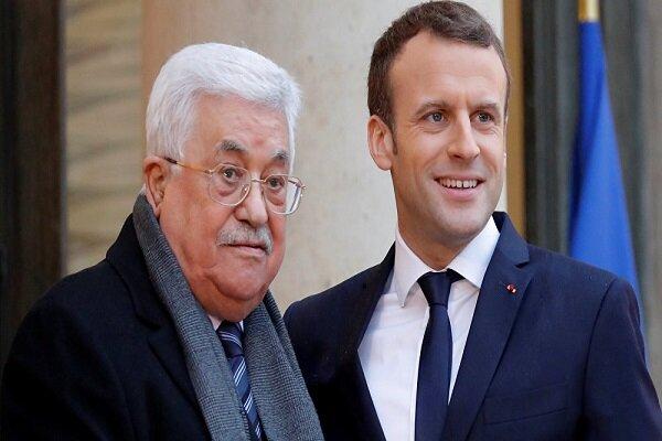 Macron, Mahmud Abbas'ı Paris'e davet etti