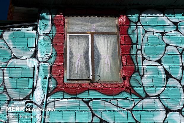 خانه های رنگی اراک