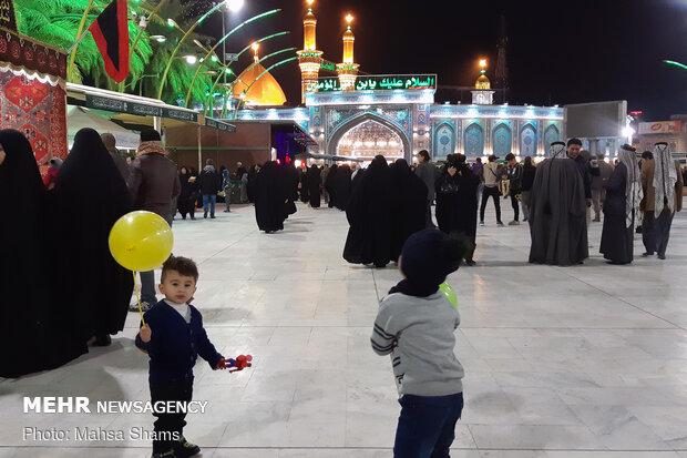 Imam Hussein pilgrims in Karbala