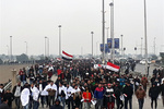 VIDEO: Aerial footage of Baghdad's anti-US rally