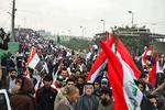 Irak'taki ABD karşıtı gösteriden fotoğraflar