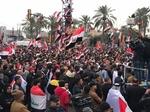 مسيرات جماهيرية في بغداد تطالب بطرد القوات الامريكية