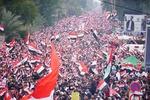 بغداد میں کئی ملین عراقیوں کا عراق سے امریکی فوج کے مکمل خاتمہ کا مطالبہ