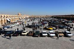 اصفہان میں امام علی اسکوائر پرکلاسیکی کاروں نمائش
