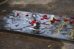 گلستان ایام فاطمیه میزبان یک شهید گمنام دوران دفاع مقدس است