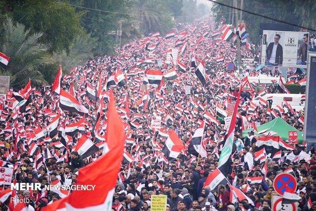 Irak halkı ABD'nin askeri varlığına 'hayır' dedi