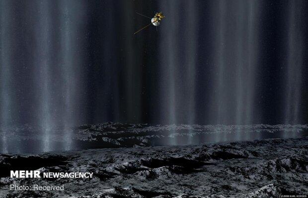 تصاویر دیدنی از فضا
