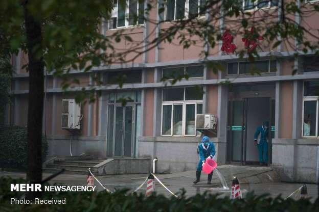 قرنطینه ووهان چین به دلیل شیوع ویروس کرونا