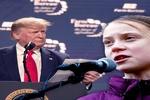 دعوای ادامهدار ترامپ با یک دختر نوجوان در داووس