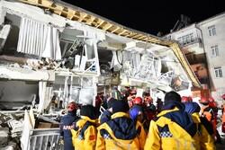 Türkiye'de meydana gelen depremden fotoğraflar