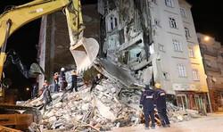 Türkiye'deki şiddetli depremden görüntüler