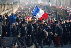 تظاهرات ضدتبعیض نژادی علیه خشونت پلیس در پاریس