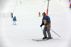 Papaei ski resort in Zanjan province