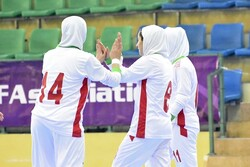 Iran 12-0 Turkmenistan: CAFA U19 Girl's Futsal C'ship