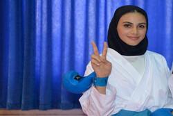 سارا بهمنیار به مدال برنز دست پیدا کرد