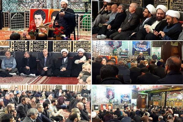 گرامیداشت شهید سلیمانی و سالگرد شهیدان «صدیفی» دردماوند برگزار شد