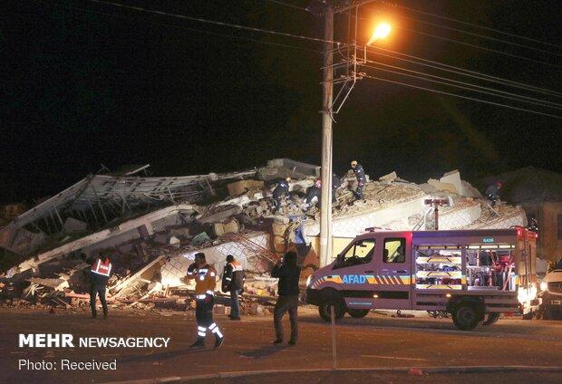 خسارات زمین لرزه ترکیه