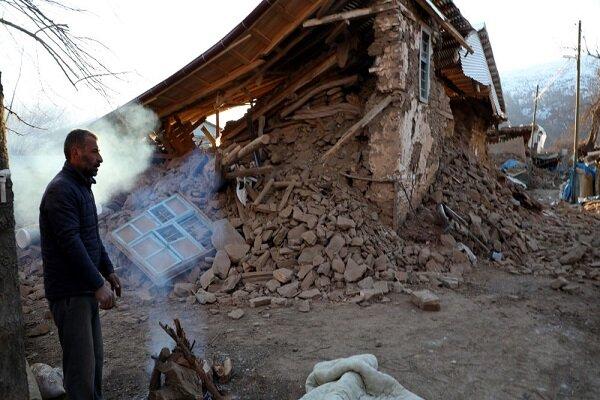 Türkiye'deki depremde bir köy tamamen yıkıldı