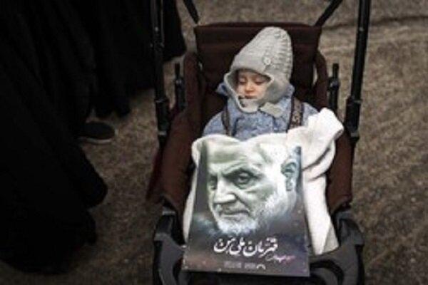 انتقام سخت مادران ایرانی از قاتلان شهید سلیمانی