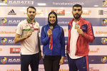 Iran clinches two gold, one bronze at Karate 1-Premier League Paris